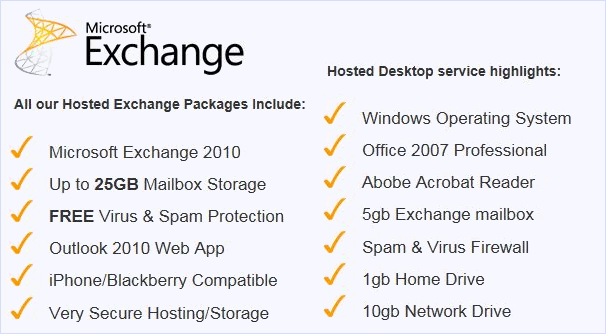 Micrsoft Exchange Hosting | JDM Computing